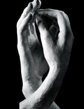 main en Noir et Blanc